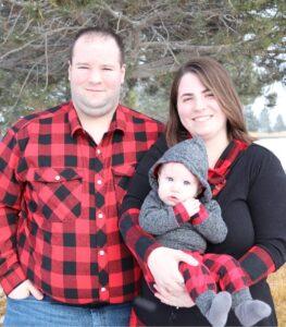 D.D. Prairie and family